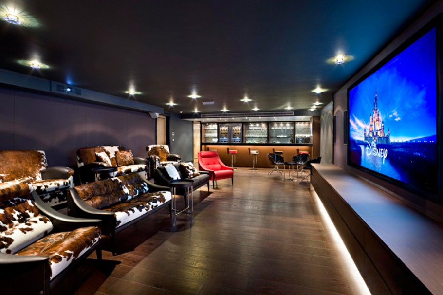 stunning-home-theater-designs-with-perfect-lighting-and-audio-visual-showing-disney-movie.jpg