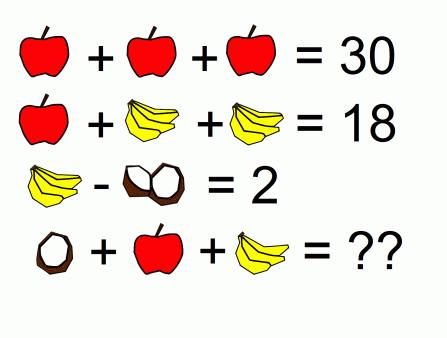 mindyourdecisions.com facebook-fruit-math-pro...-apple-plus-banana-thumb.png