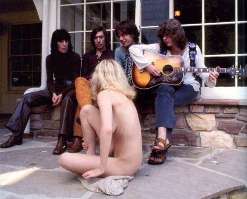Rolling Stones - Usa Tour 1969 At Oriole House with the groupie named Angel.jpg