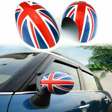 Image result for mini side mirrors british flag