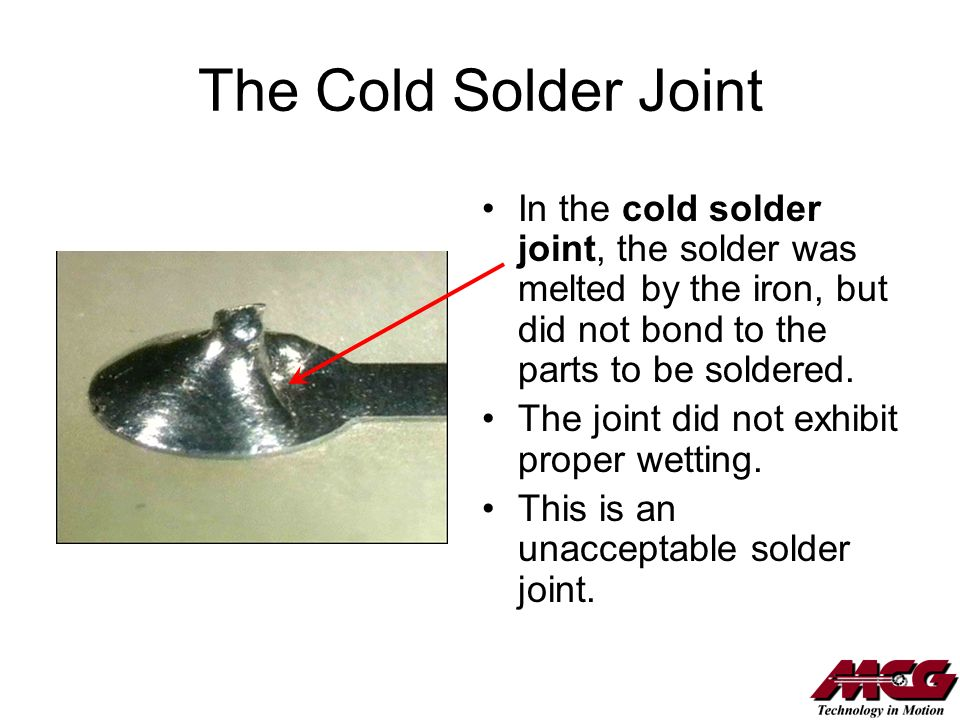 The+Cold+Solder+Joint+In+the+cold+solder+joint,+the+solder+was+melted+by+the+iron,+but+did+not...jpg