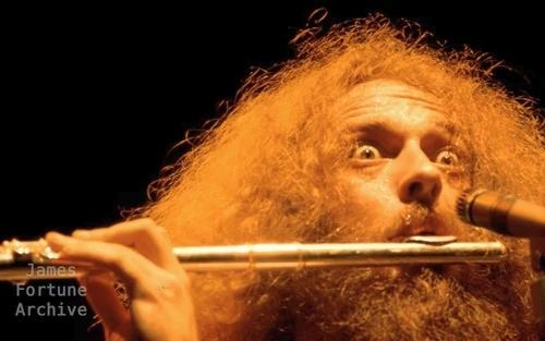 Ian Anderson, wild-eyed on flute, Jethro Tull at The Los Angeles Forum - Los Angeles, Ca.-1974.jpg