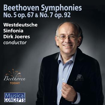 Dirk Joeres & Westdeutsche Sinfonia - Beethoven Symphonies Nos. 5 & 7 - Joeres (2021).jpg